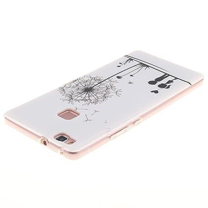 G-4 Dooki Mince Doux Silicone TPU Protecteur Téléphone Accessoires Housse Coque Etui Pour Huawei P9 Lite P9 Lite Coque
