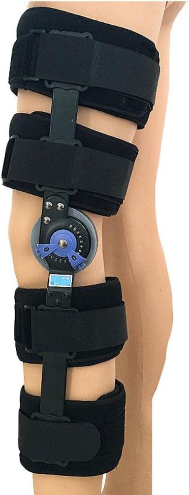 Órtesis de rodilla ajustable Miembro inferior Fixe de articulación antideslizante