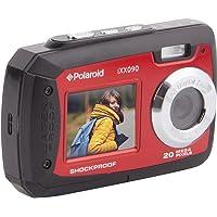 Polaroid iXX090 Dual Screen Shock & Waterproof Digital Camera (Red)