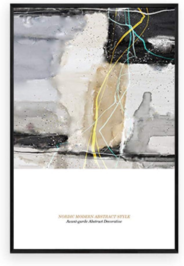 zxddzl Arte Abstracto salón Pintura Decorativa sofá Fondo Pintura al óleo Moderno Estilo Minimalista tríptico Creativo nórdico Pintura de Pared soñador F3 40 * 60 cm