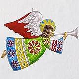Hallmark Christmas Ornament Keepsake 2018 Year Dated Metal, Angel De Esperanza