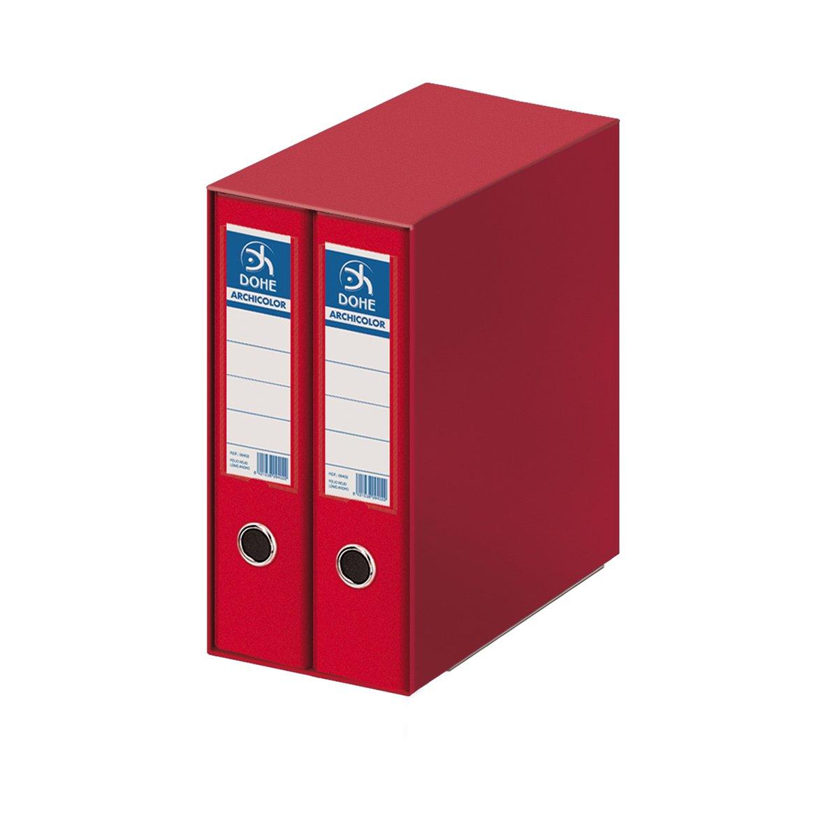 Dohe Archicolor - Módulo 2 archivadores A4, color rojo product image