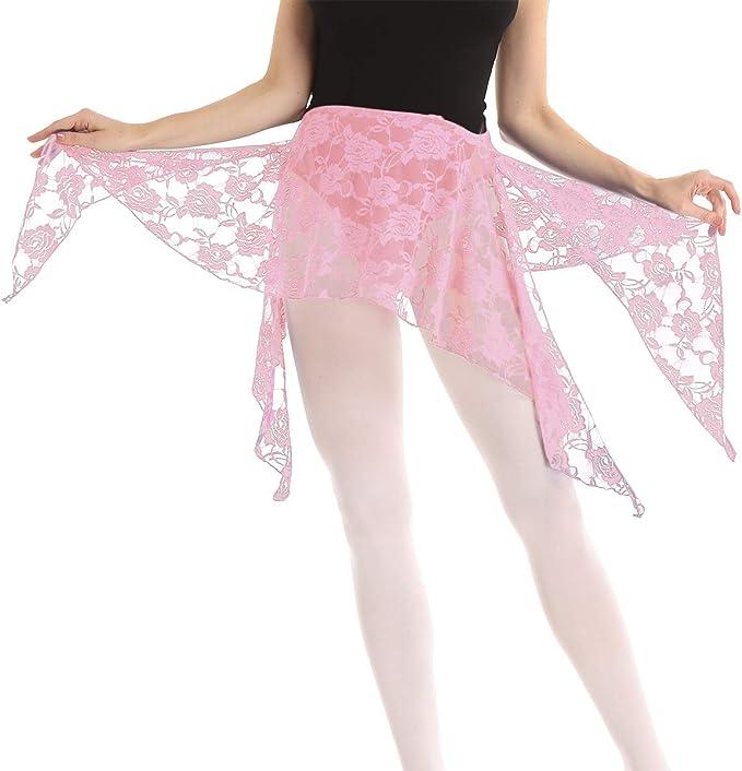 inhzoy Falda Danza del Vientre para Mujer Bufanda de Danza ...