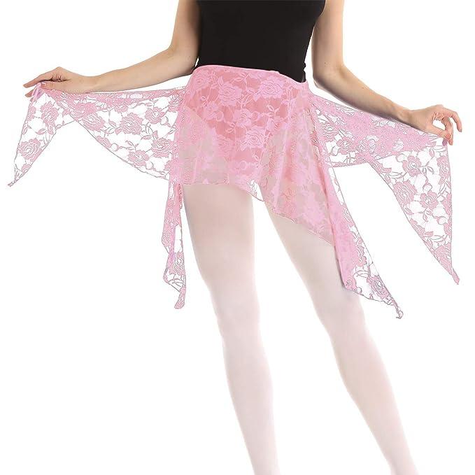 ranrann Falda Danza del Vientre para Mujer Pañuelo de Baile Árabe ...