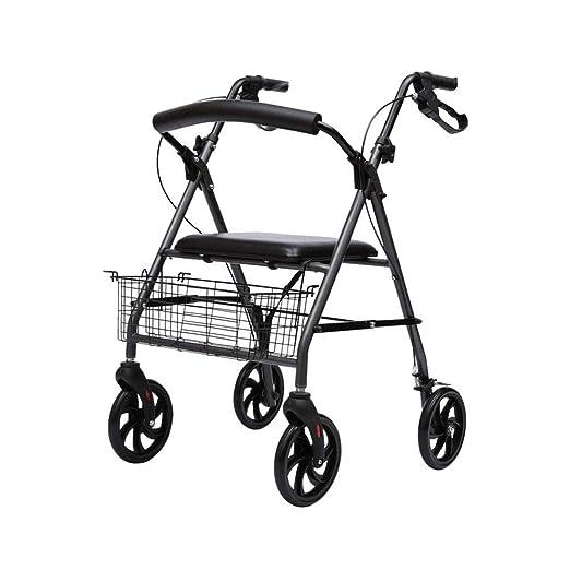 Hyl Andador para Ancianos Ancianos paseando Walker, Walker ...