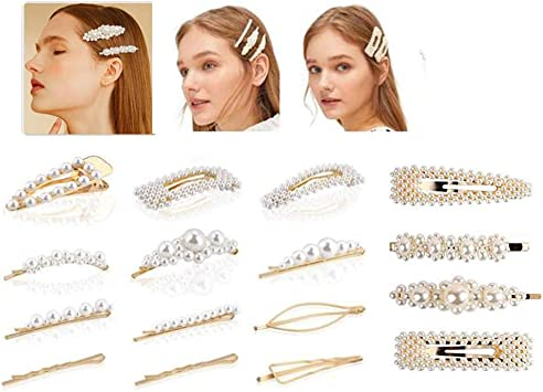 8 Pi/èces Artificielle Perles De Cheveux En Perle En /Épingle /À Cheveux Accessoires de cheveux,pour Femmes Filles Mariages Accessoires De Cheveux
