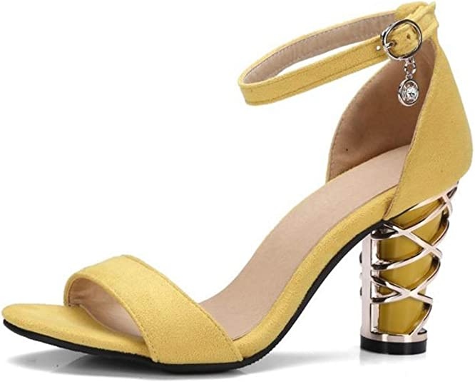 Special-Shop Women Shoes Womens high Heels Metal and Womens Shoes and Sandals 34-43