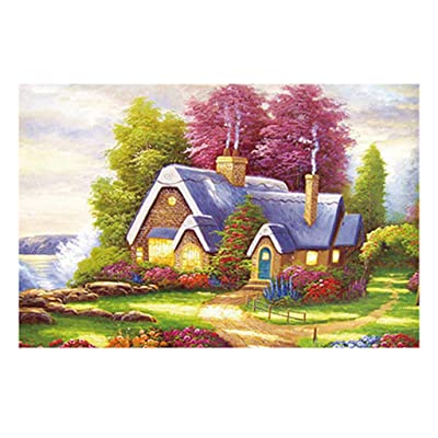 Kariwell Jigsaw Puzzles Dream Cabin! 150 Piece Jigsaw Puzzle for Kids – Every Piece is Unique, Pieces Fit Together Perfectly - Learning and Education Toys: Beauty