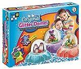 snow globe supplies - AMAV Glitter Domes Kit for Kids - DIY Make Your Own Sparkling 3D Wonderland Decorative for Your Room