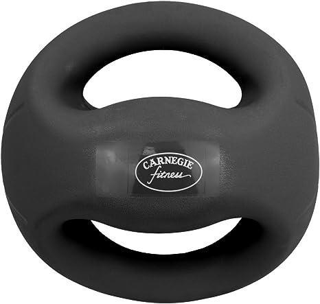 Carnegie 7 kg de Fuerza de fútbol balón Medicinal con Asas Fitness ...