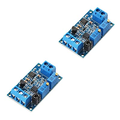 Ximimark 2Pcs Current to Voltage Converter Module 0/4-20mA to 0-3.3V 0-5V 0-10V Voltage Transmitter Signal Conversion Conditioning Board: Home Audio & Theater