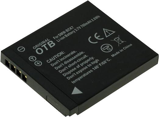 Akku für Panasonic Lumix DMC-FT20 700mAh DMC-FT30 ersetzt: DMW-BCK7 DMC-FT25