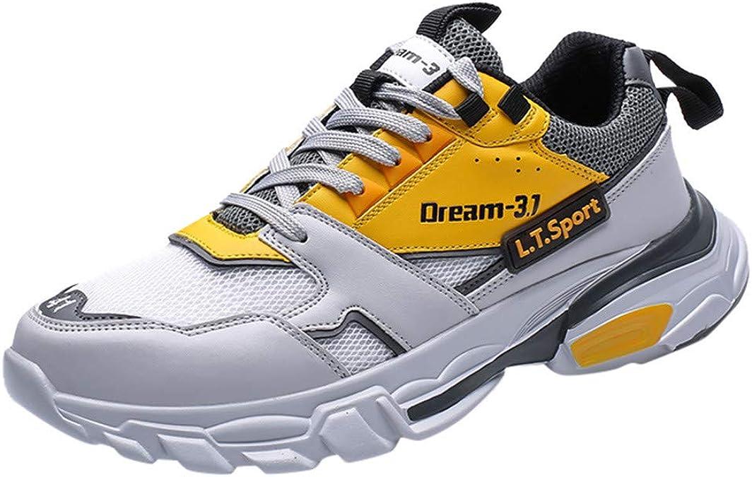 OPAKY Zapatillas de Deporte Hombre Respirable para Correr Zapatos Running Calzado Ligeras Moda Masculina Colores de Mezcla Salvajes Calzados Informales Bajas Transpirables y Cómodas: Amazon.es: Zapatos y complementos