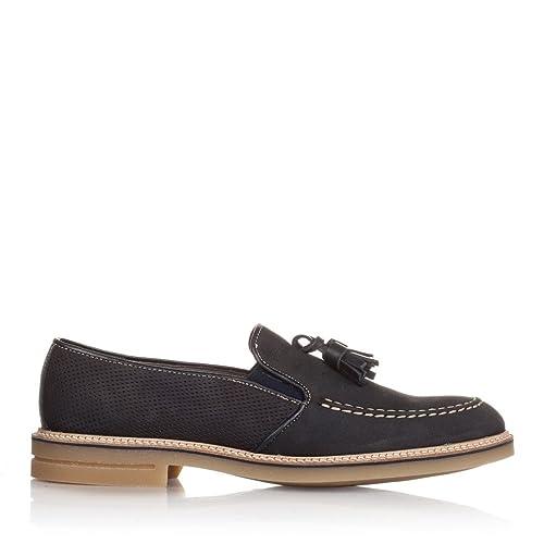 Castellanísimos C01201 Zapatos Mocasines Hombre Piel Con Borlas Color Marino - Color - MARINO, Tallas - 45: Amazon.es: Zapatos y complementos