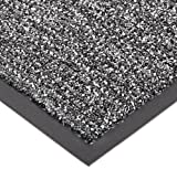 Notrax 146 Encore Entrance Mat, for Inside Foyer Area, 4' Width x 6' Length x 5/16'' Thickness, Gray