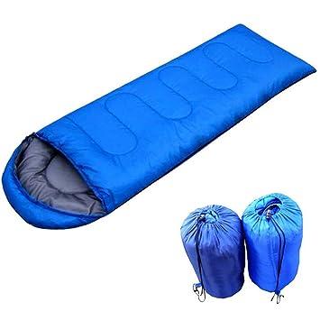 yookoon ligero sobre estilo mec saco de dormir cómodo y cálido adulto mochila Camping, mujer Infantil Unisex hombre, azul: Amazon.es: Deportes y aire libre