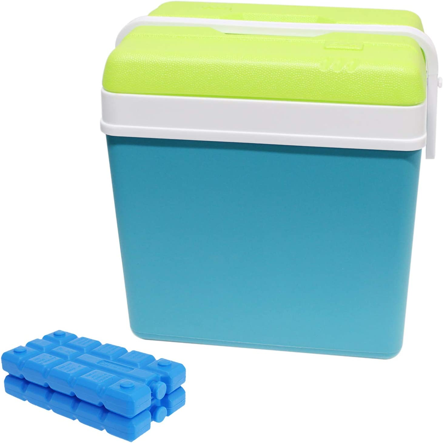 Guaranteed4Less Large 24L Insulated Cooler Box Camping Drinks Ice Festival Beach Picnic Travel