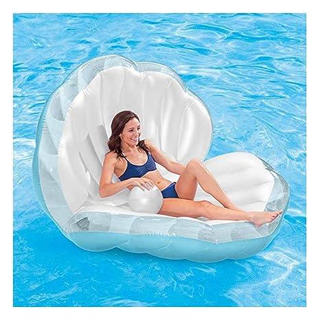 JUZIWEI Piscina Inflable Flotante Shell Summer Beach Pool ...