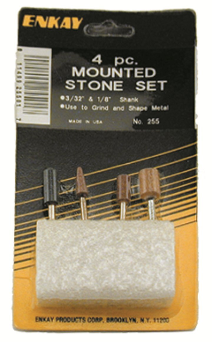 Carded 1//8-Inch 4-Piece Enkay 255 Mounted Points