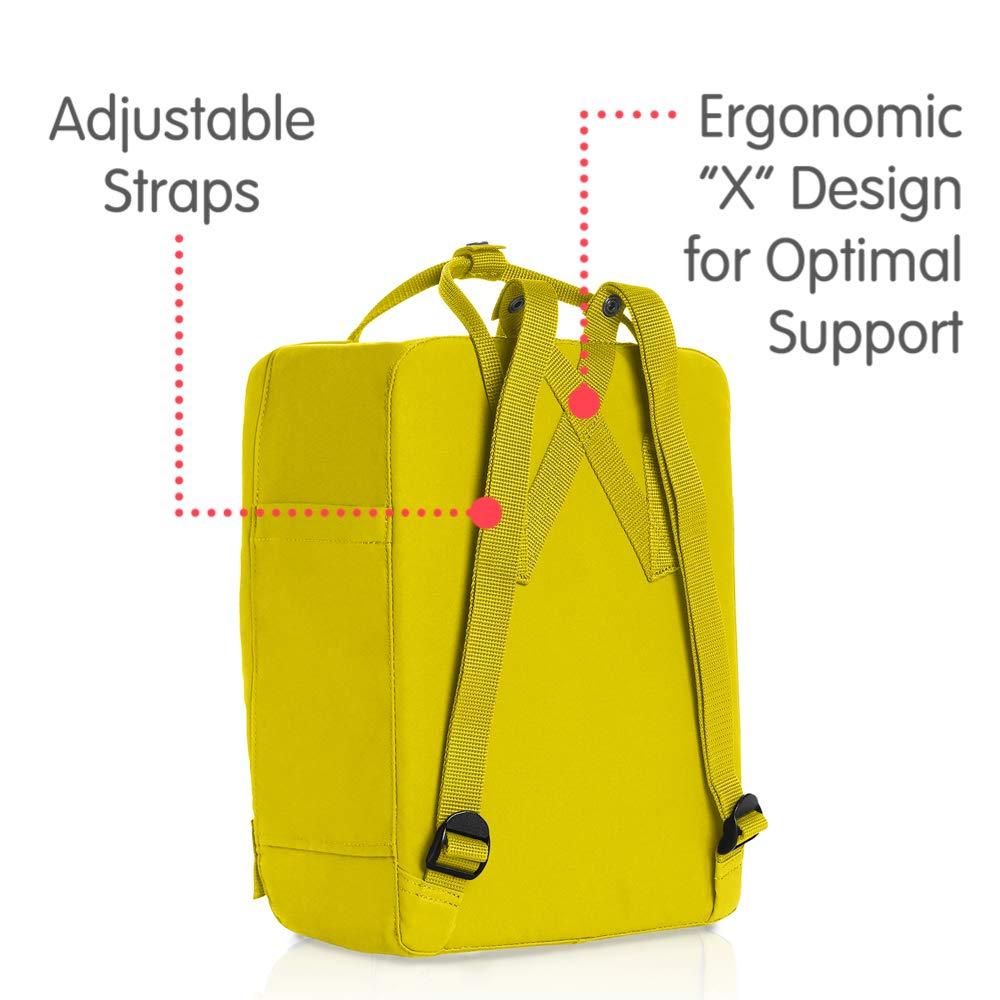 Kanken Classic Backpack for Everyday Fjallraven Birch Green