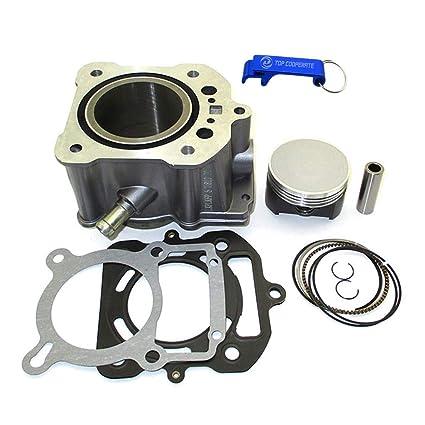 Amazon com: TC-Motor 70mm Big Bore Cylinder Piston Kit For