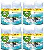 Air Wick sARQZa Freshmatic Refills Automatic Spray, Fresh Waters, 2 Count (4 Pack)