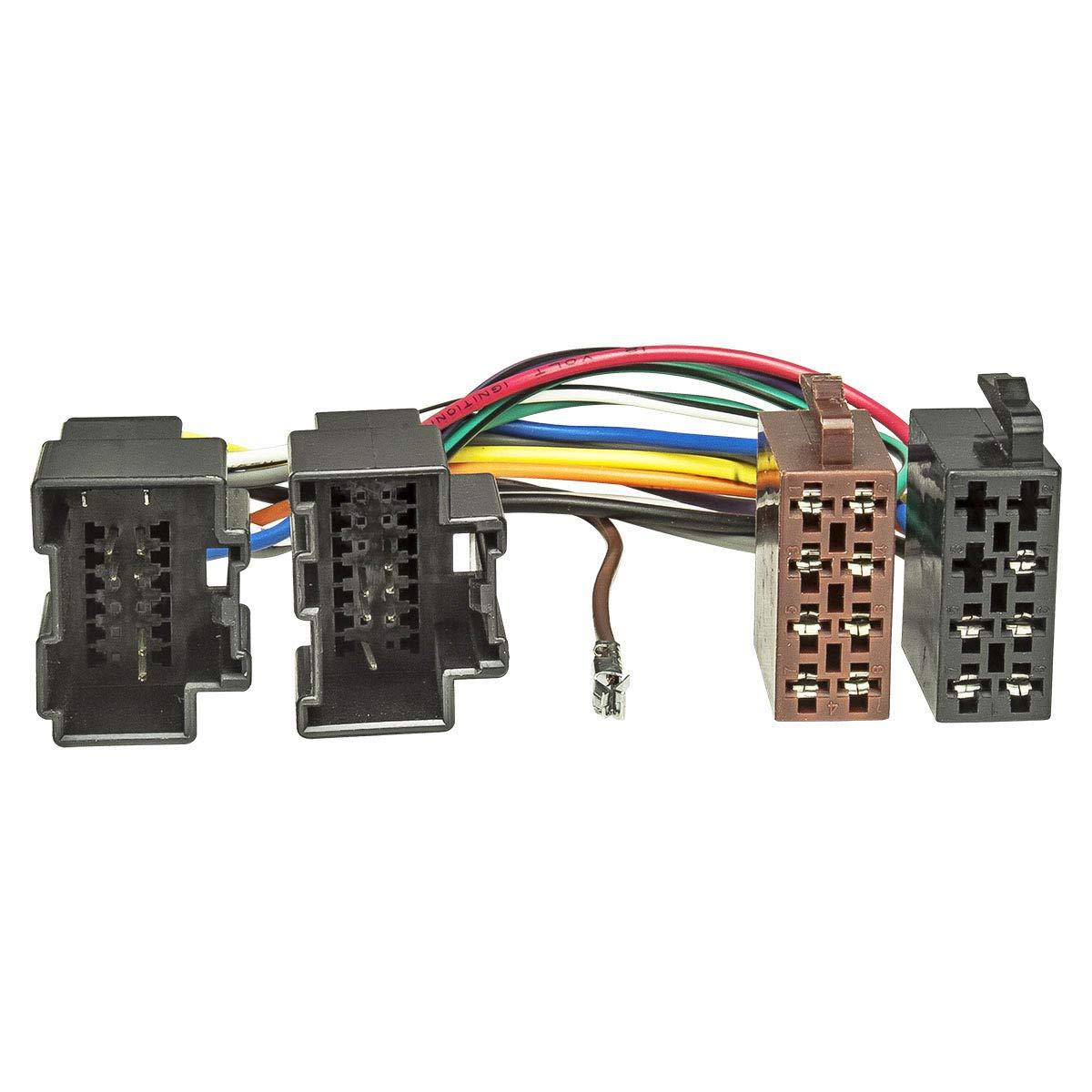 Aerzetix H7 convertitore cavo adattatore presa per autoradio ISO per ALPINE