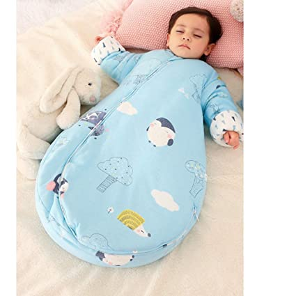 Saco de Dormir para bebés, Modelos de algodón para niños en otoño e Invierno,