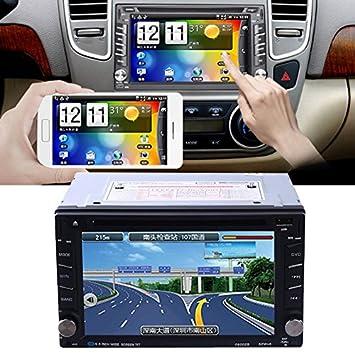 Sedeta 6.2 2 Din pantalla táctil Bluetooth WIFI coche GPS DVD reproductor de CD
