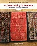 Book cover from A Community of Readers: A Thematic Approach to Reading by Roberta Alexander