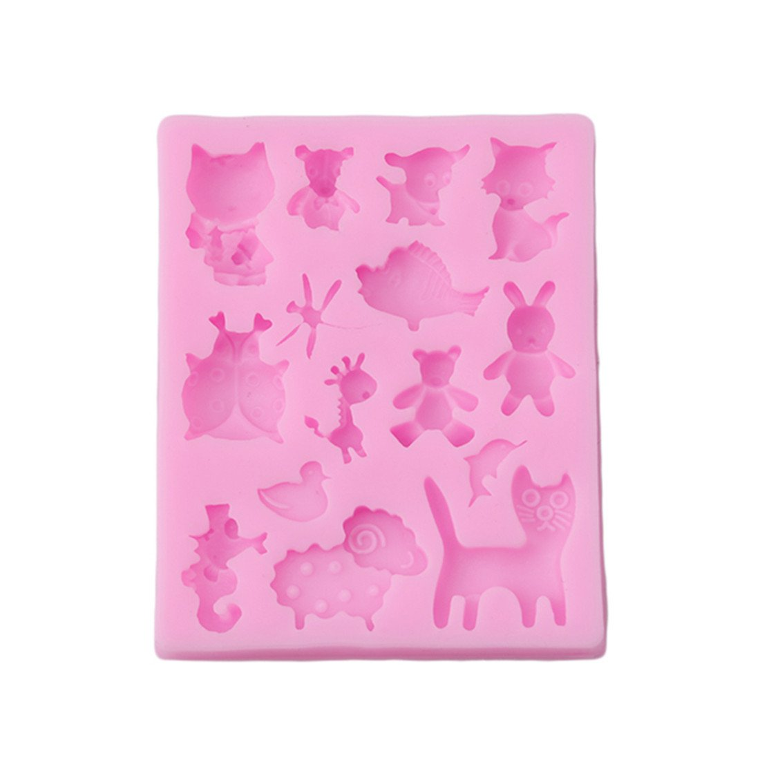 3D Sea Horse Fondant Silicone Mold Decorating Tool Cake Chocolate Soap Mould DIY