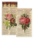 HomArt Matches - Romantic Roses (Set of 50)
