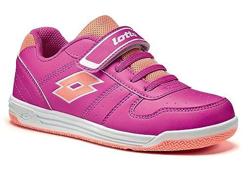 Lotto Zapatillas de Tenis Para Niño, Color Rosa, Talla 27 EU