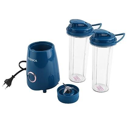 KONKA Mini Exprimidor Eléctrico Portátil Pequeño Escala Procesador Doméstico de Zumo de Frutas Extractor Blender,
