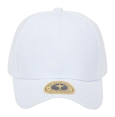 plain white baseball caps bulk womens cap uk cotton buckle adjustment closure hat