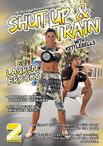 Lauren Brooks' Shut Up & Train with Kettlebells DVD