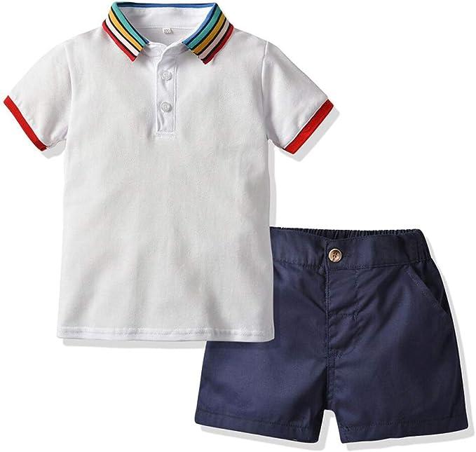 Jungen Anzug Kurz Freizeit Sommer Outfits Kinder Kleidung