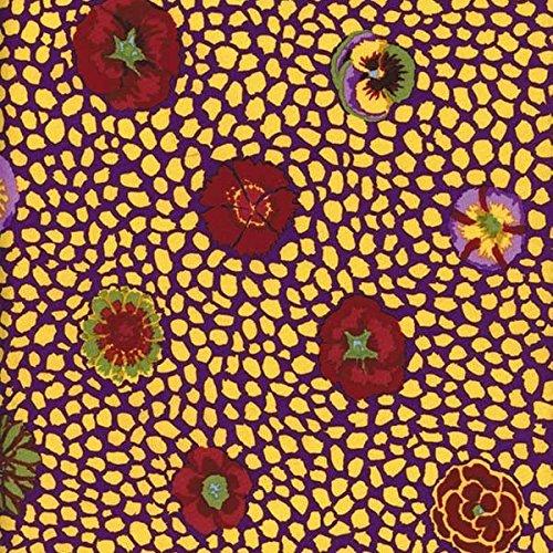 Free Spirit Fabrics Kaffe Fassett Perennials Yellow Guinea Flower