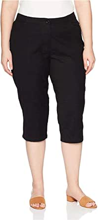 Riders by Lee Indigo Womens Comfort Collection L-Pocket Twill Capri Casual Pants