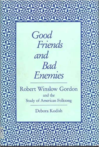 The first 20 hours audiobook download Good Friends and Bad Enemies: Robert Winslow Gordon and the Study of American Folksong (Music in American Life) 0252012518 MOBI
