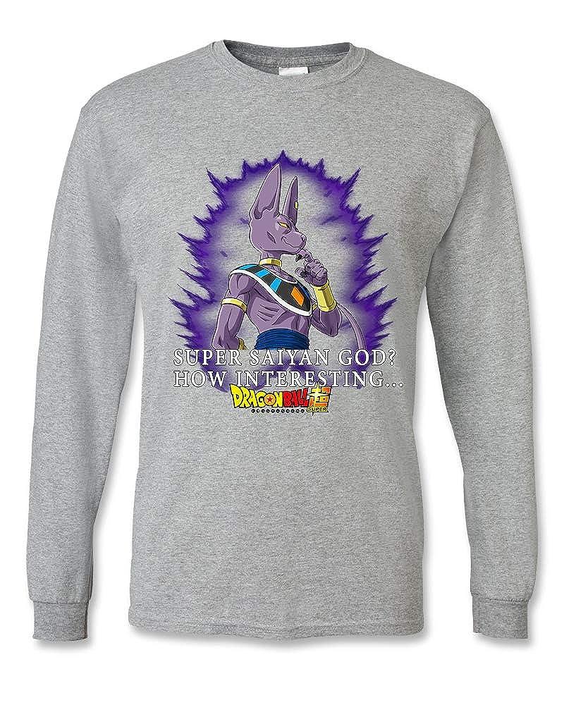 DB Super-21/_Parent Dragon Ball Super Anime Unisex Long Sleeve Shirt LS