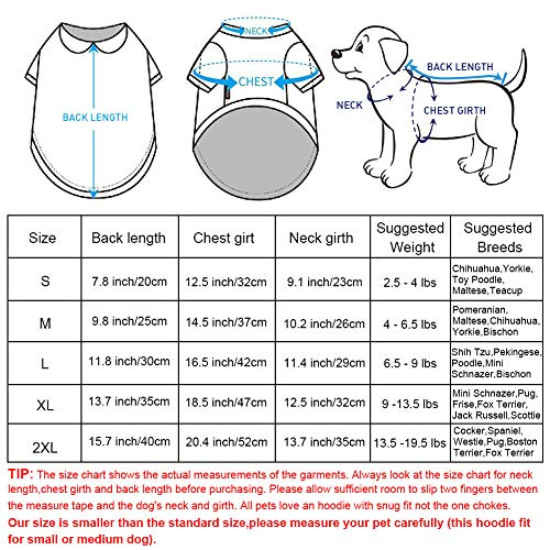 Pictures of EastCities Dog ClothesSmall Dogs Puppy Pajamas OutfitGrey 6