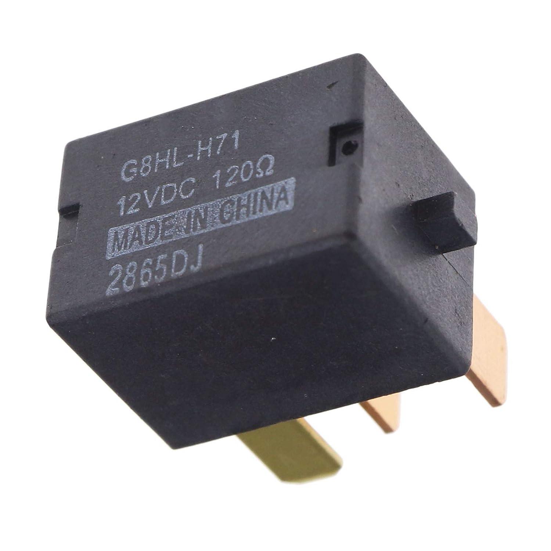 Relais de climatisation 12 V Noir Réf. OEM 39794-SDA-A05 Relais pour climatisation