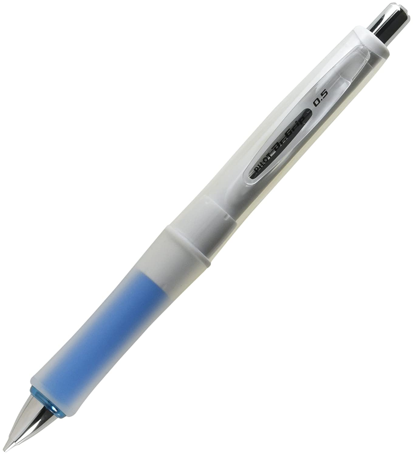 Pilot Mechanical Pencil Dr Grip G-Spec White,Soft Blue Grip,HDGS-60WR-SL5
