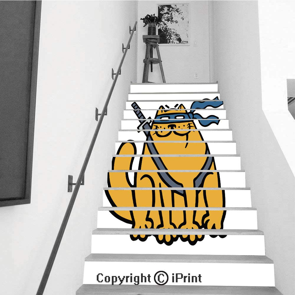Amazon.com: Stair Stickers Wall Stickers,13 PCS Self ...