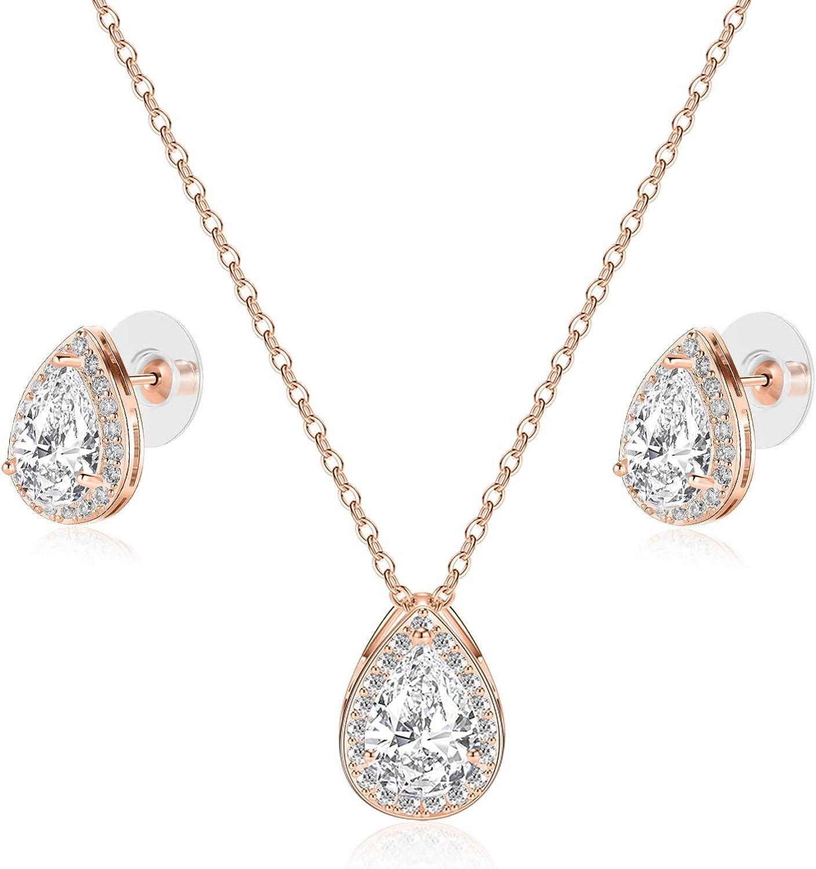 Gold Teardrop Thread EarringsCubic Zirconia PearBriolette Drop EarringsWireHookCrystal Earrings for WomenFashion JewelryGift for Her