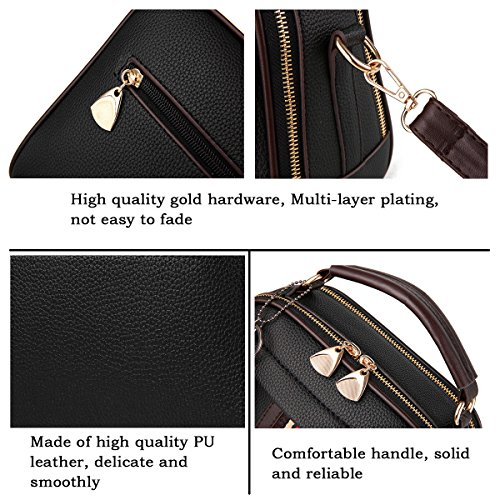 Tibes Bags Satchel Top Women Ladies A Bag Handbags Shoulder handle Green Crossbody Uq1awU8xr