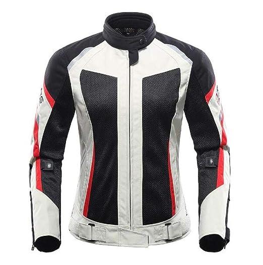 XPF Chaqueta De Moto para Mujer Ropa De Moto Transpirable Chaqueta ...