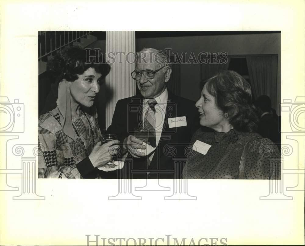 Vintage Photos 1987 Press Photo Doctor Ramiro Estrada and Others at Oak Hills Country Club