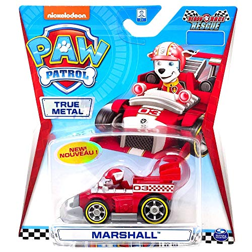 Paw Patrol Marshall Ready Race Rescue Diecast Car 1:55 Scale (Best Marshall For Metal)